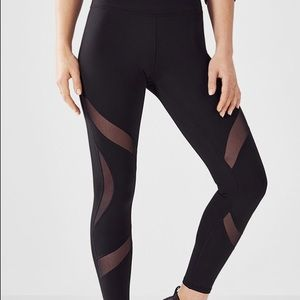 Fabletics Statement Mesh Powerhold 7/8 Legging